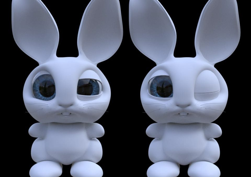 TDU Bunny :: Building A CG Character From Start To Finish!