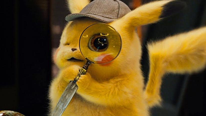 detective pikachu design