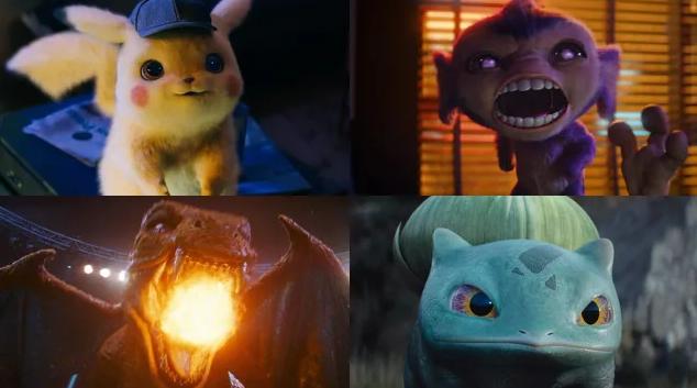 detective pikachu characters